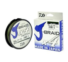 Плетенный шнур Daiwa J-BRAID X4 green 0,10