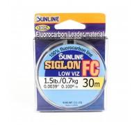 Флюрокарбон SUNLINE SIGLON FC 0,16