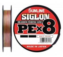 Плетеный шнур SUNLINE SIGLON PE x8 Multicolor #0.6