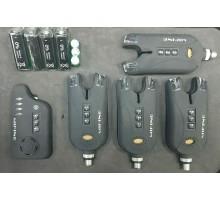 Набор сигнализаторов MIFINE 56012 (4 сигнализатора + пейджер)