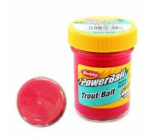 Паста BERKLEY Original Scent Trout Bait FL. Red Розовая
