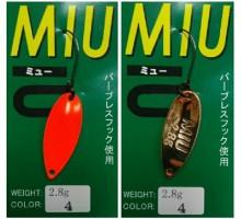 Блесна колеблющаяся Forest Miu 2,8 гр цвет 4