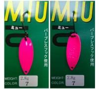 Блесна колеблющаяся Forest Miu 2,8 гр цвет 7