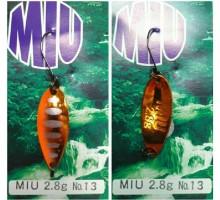 Блесна колеблющаяся Forest Miu  3,5 гр Native цвет 13