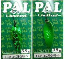 Блесна колеблющаяся FOREST PAL 3,8 гр цвет LT38