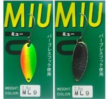 Блесна колеблющаяся Forest Miu 2,8 гр цвет ML9