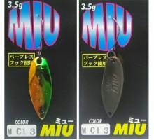 Блесна колеблющаяся Forest Miu 3,5 гр цвет MC13