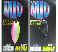 Блесна колеблющаяся Forest Miu 3,5 гр цвет MC6