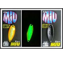 Блесна колеблющаяся Forest Miu 3,5 гр цвет MC15