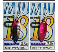 Блесна колеблющаяся Forest Miu 3,5 гр цвет 02