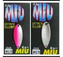 Блесна колеблющаяся Forest Miu 3,5 гр цвет MC3