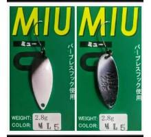 Блесна колеблющаяся Forest Miu 2,8 гр цвет ML5