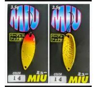 Блесна колеблющаяся Forest Miu 3,5 гр цвет 14
