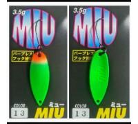 Блесна колеблющаяся Forest Miu 3,5 гр цвет 13