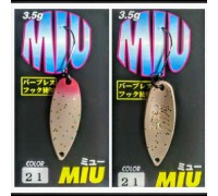 Блесна колеблющаяся Forest Miu 3,5 гр цвет 21