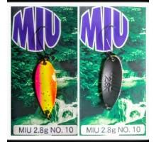 Блесна колеблющаяся Forest Miu 2,8 гр Native цвет 10