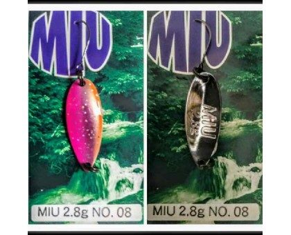 Блесна колеблющаяся Forest Miu 2,8 гр Native цвет 08