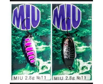 Блесна колеблющаяся Forest Miu 2,8 гр Native цвет 11