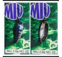 Блесна колеблющаяся Forest Miu 2,8 гр Native цвет 02