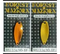 Блесна колеблющаяся Forest Miu 3,5 гр Maziora цвет 07