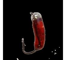 Мормышка ICE DRAGON Мотыль 0,5гр